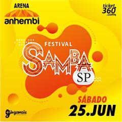 Festival Samba SP com Thiaguinho, Dilsinho, Ferrugem, Belo, Pixote e outros