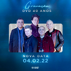 Gravação do DVD 40 Anos Roupa Nova