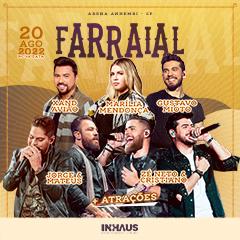 Farraial com Marília Mendonça, Jorge & Mateus, Zé Neto & Cristiano e muito mais