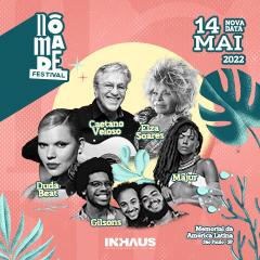 Nômade Festival com Caetano Veloso mais atrações