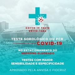 Covid 19 Teste Drive Thru São Paulo