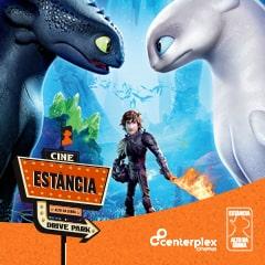 Cine Estância Drive Park Como Treinar o Seu Dragão 3