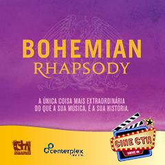 Cine CTN apresenta Bohemian Rhapsody