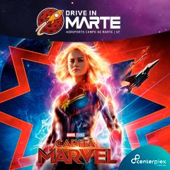 Drive In Campo de Marte com Capitã Marvel