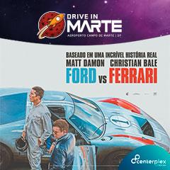 Drive In Campo de Marte com Ford Vs Ferrari