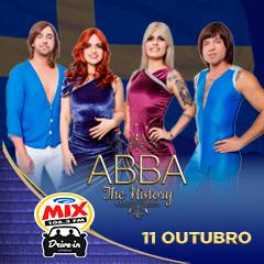 Transamérica Drive In apresenta ABBA The History Musical Ao Vivo