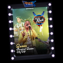 Drive in das Américas apresenta Classic Rock com Classical Queen