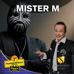 Noites da Mágica com convidado internacional Mister M. Apresentação Ossamá Sato