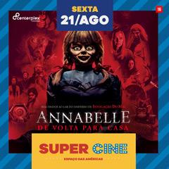 Super Cine Espaço das Américas drive-in com Annabelle 3