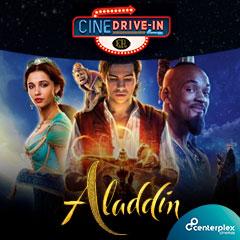 Cine Atibaia Drive In apresenta Aladdin