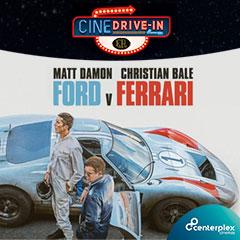 Cine Atibaia Drive In apresenta Ford Vs Ferrari