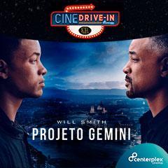 Cine Atibaia Drive In apresenta Projeto Gemini