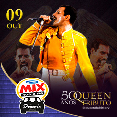 Transamérica Drive In apresenta Queen The History