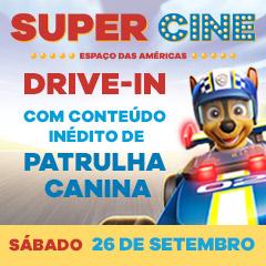 Super Cine Espaço das Américas: Conteúdo Inédito de Patrulha Canina
