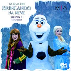 CTN apresenta Frozen II Brincando na Neve O Show Teatral