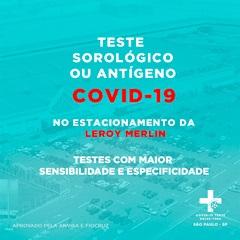 Covid 19 Teste Drive Thru Rio De Janeiro