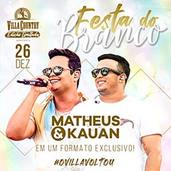 Festa do Branco com Matheus & Kauan