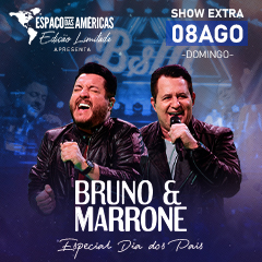 Bruno & Marrone Edição Limitada Especial Dia dos Pais Show Extra