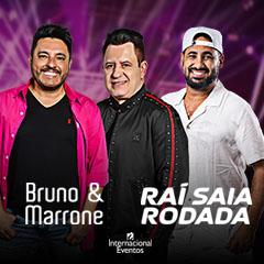 Bruno & Marrone e Raí Saia Rodada