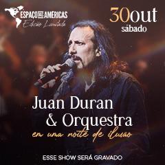 Juan Duran e Orquestra em uma noite de ilusão Edição Limitada