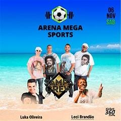 Inauguração Quadras de Areia na Arena Mega Sports