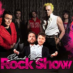 Stand Up Rock Show Brothers Of Brazil, Supla, D. Zukerman e Mauricio Meirelles