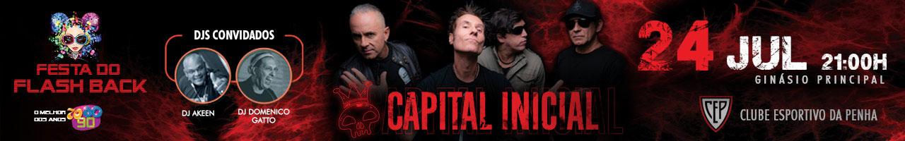 Noite Flashback com Capital Inicial