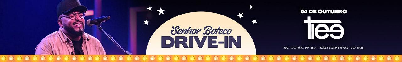 Senhor Boteco Drive In apresenta Tiee