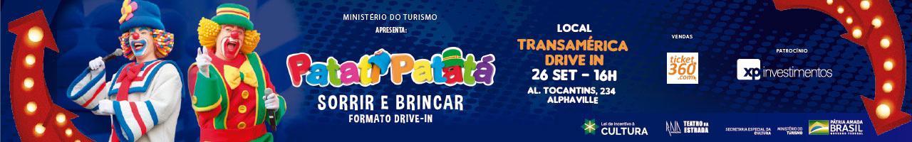 Transamérica Drive In apresenta Patati Patatá