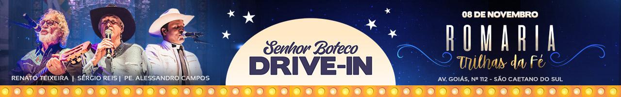 Senhor Boteco Drive In apresenta Romaria Trilhas da Fé