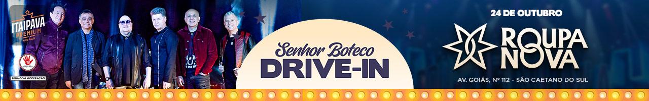Senhor Boteco Drive In apresenta Roupa Nova