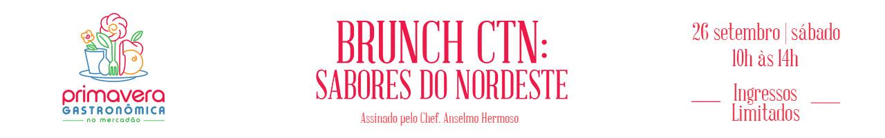 Brunch CTN Sabores do Mercadão pela chef Eliana Rocha