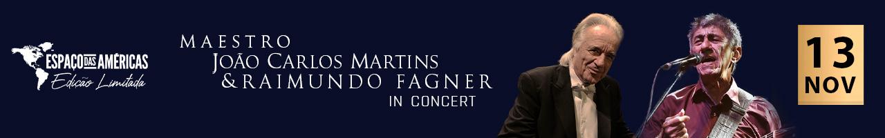 Maestro João Carlos Martins e Raimundo Fagner In Concert Edição Limitada