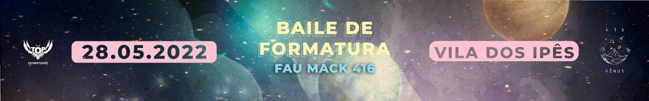Baile de Formatura FAU Mackenzie 2021.1 Comissão Vênus