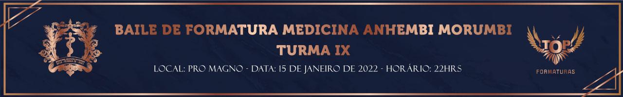 Baile de Formatura Medicina Anhembi Morumbi Turma IX 2021.2