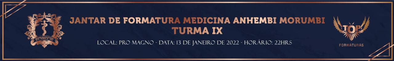 Jantar de Formatura da Medicina Anhembi Morumbi Turma IX