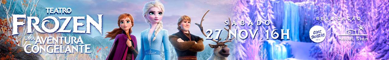Teatro Frozen Uma Aventura Congelante