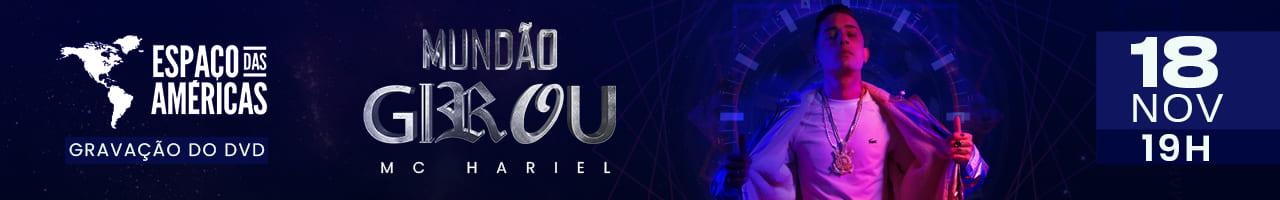 MC Hariel Gravação do DVD Mundão Girou