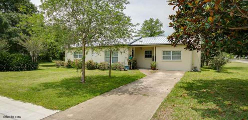 419 North Prospect St, Crescent City, FL 32112