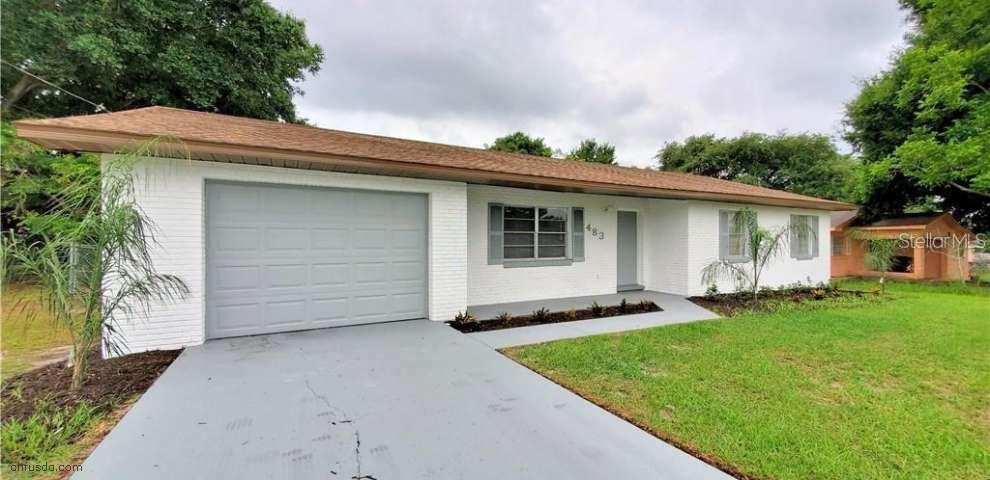 483 E Hoffman St, Lake Alfred, FL 33850