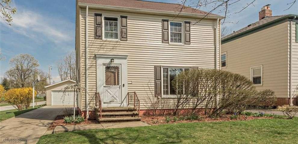 1427 Evanston Rd, Lyndhurst, OH 44124