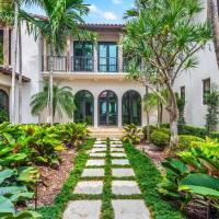 Dwyane Wade home in Miami Beach, FL