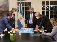Los medios argentinos aseguran que el mapa fue reconocido por la Convención de Naciones Unidas sobre el Derecho del Mar (CONVEMAR).