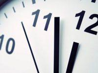 El horario de invierno 2021 comenzará a regir a partir del próximo sábado 3 de abril.