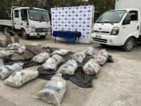 Lo transportaban en camiones por la Ruta del Ácido, en la comuna de Olivar. La propiedad del cobre fue reconocida por personal de Codelco, el cual habría indicado que la pureza del metal robado alcanza el 99%.