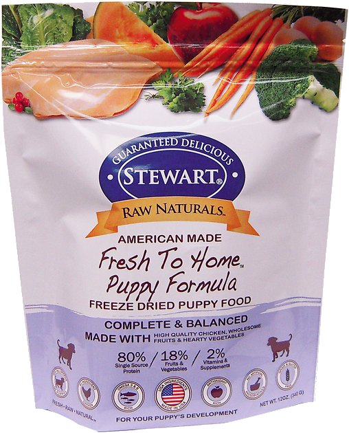Stewart Raw Naturals Puppy Formula Grain Free Freeze Dried Dog Food Vs Sundays For Dogs Sundays Food For Dogs