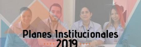 Planes Institucionales 2019