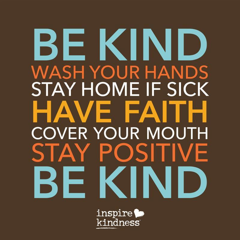15 Kindness Ideas COVID-19/Coronavirus | Be Kind | Inspire Kindness