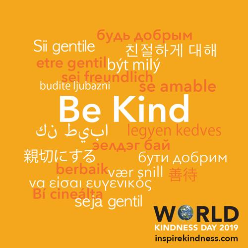 be kind in other languages world kindness day