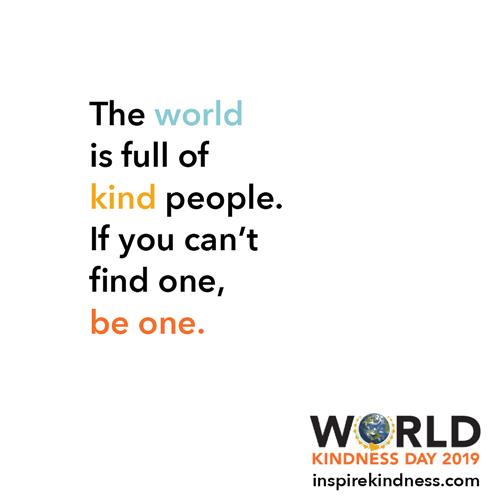 World is Full of Kind People World Kindness Day